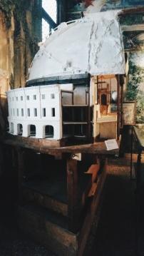 Mariano's theatre design/lighting set up in his studio