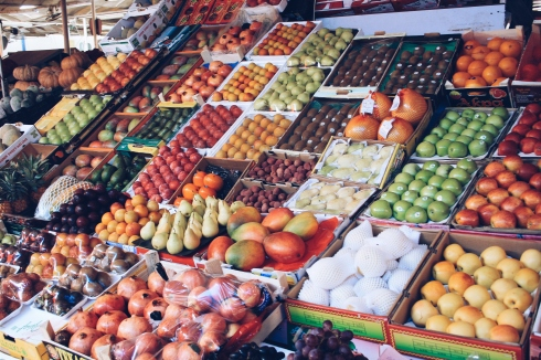 Local markets are great to grab fresh fruit