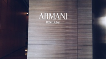 Through the Armani Hotel