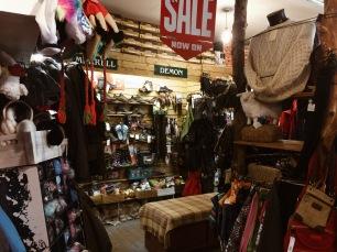 Cute little shop where I got my boots