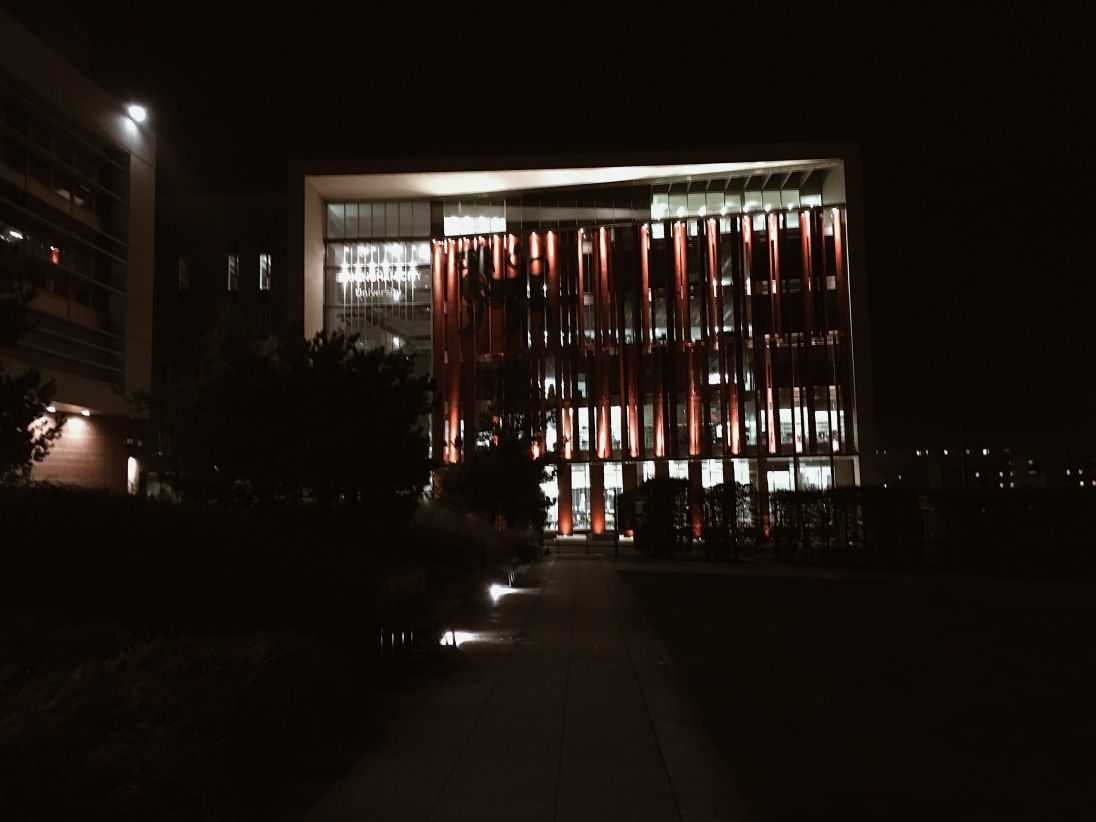 BCU Curzon @ night (I spent a lot of nights in that building near deadline)