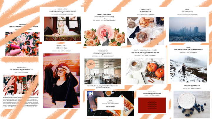 The Style Feed Contents 18/19